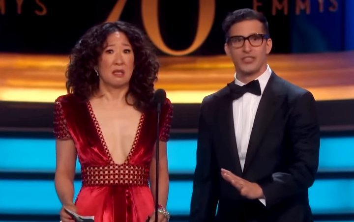 Sandra Oh and Andy Samberg Tapped as Hosts for 2019 Golden Globes Gets Positive Reactions