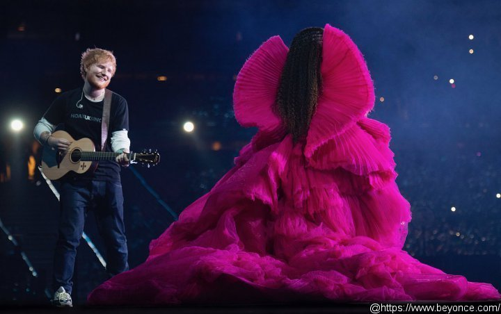 Ed Sheeran Cheekily Responds to His and Beyonce's Clashing Stage Outfits