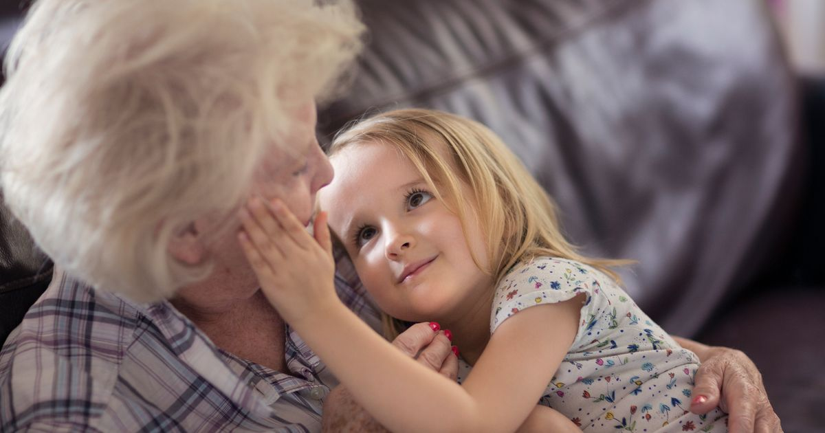 Dr Miriam Stoppard: Tots and elderly are great for each other