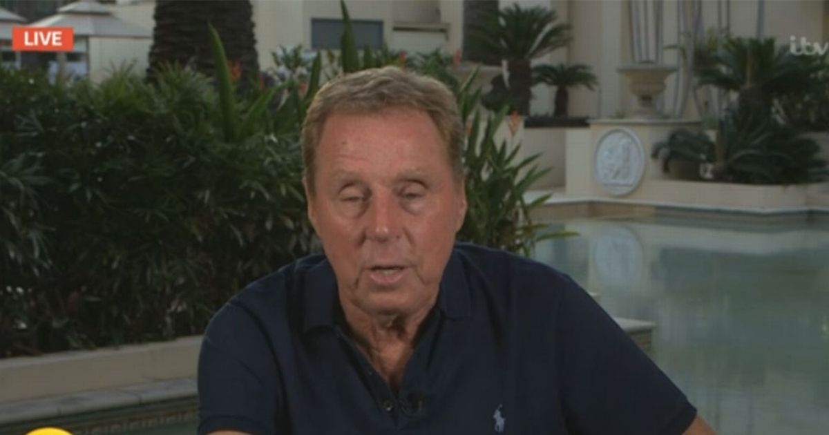Harry Redknapp reveals how much weight he's lost after four days without eating
