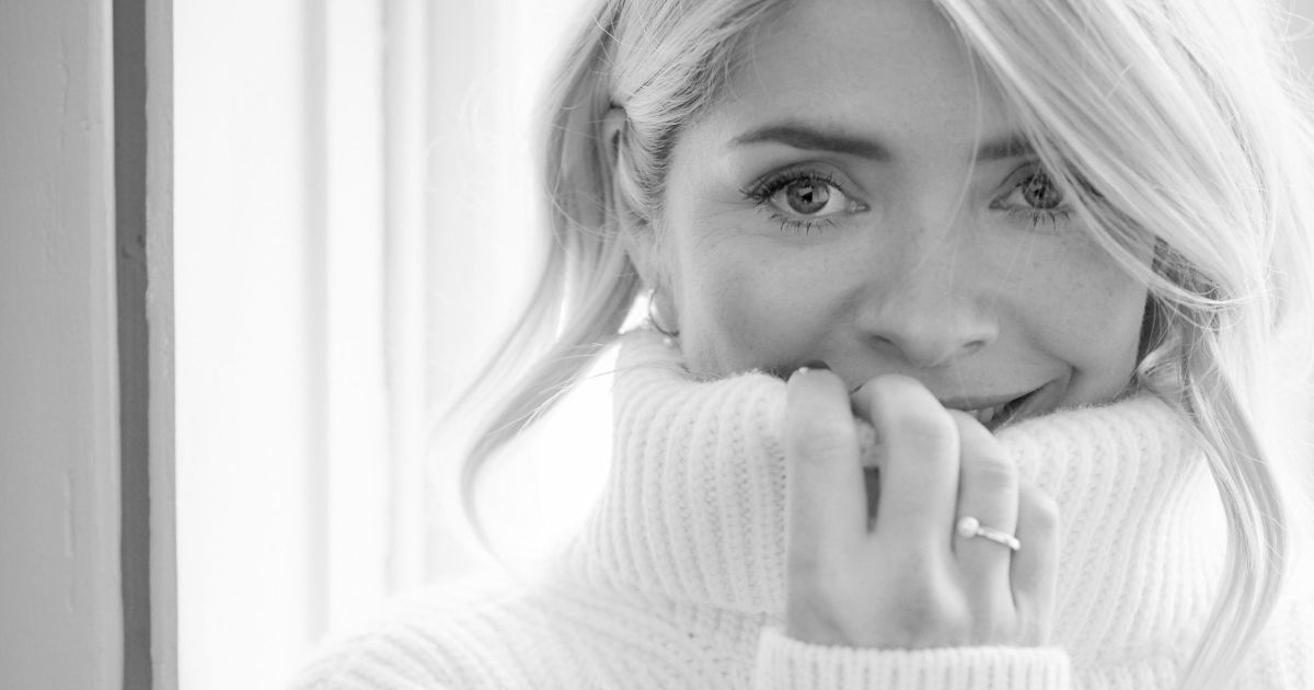 Holly Willoughby was so insecure about looks she wouldn't go out without makeup