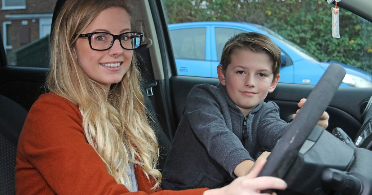 Boy's incredible reaction when mum blacks out in car driving at 65mph