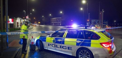Man killed after being hit by police car on Christmas Day