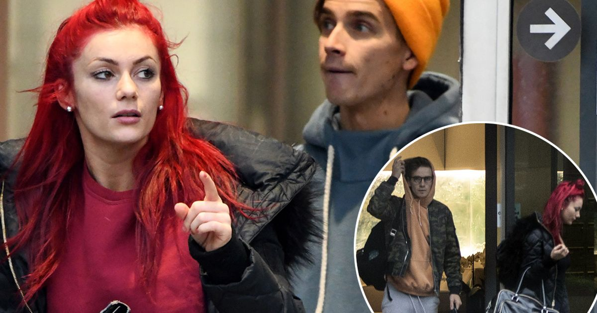 Strictly's Diane fuels romance rumours with two-night stopover with Joe Sugg