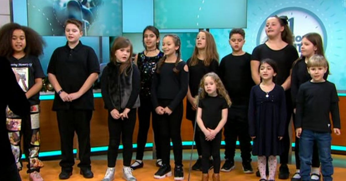 GMB viewers fuming as children's grief choir are 'cut off' for ad break