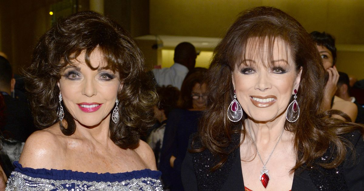 Joan Collins reveals why she believes late sister Jackie is still with her