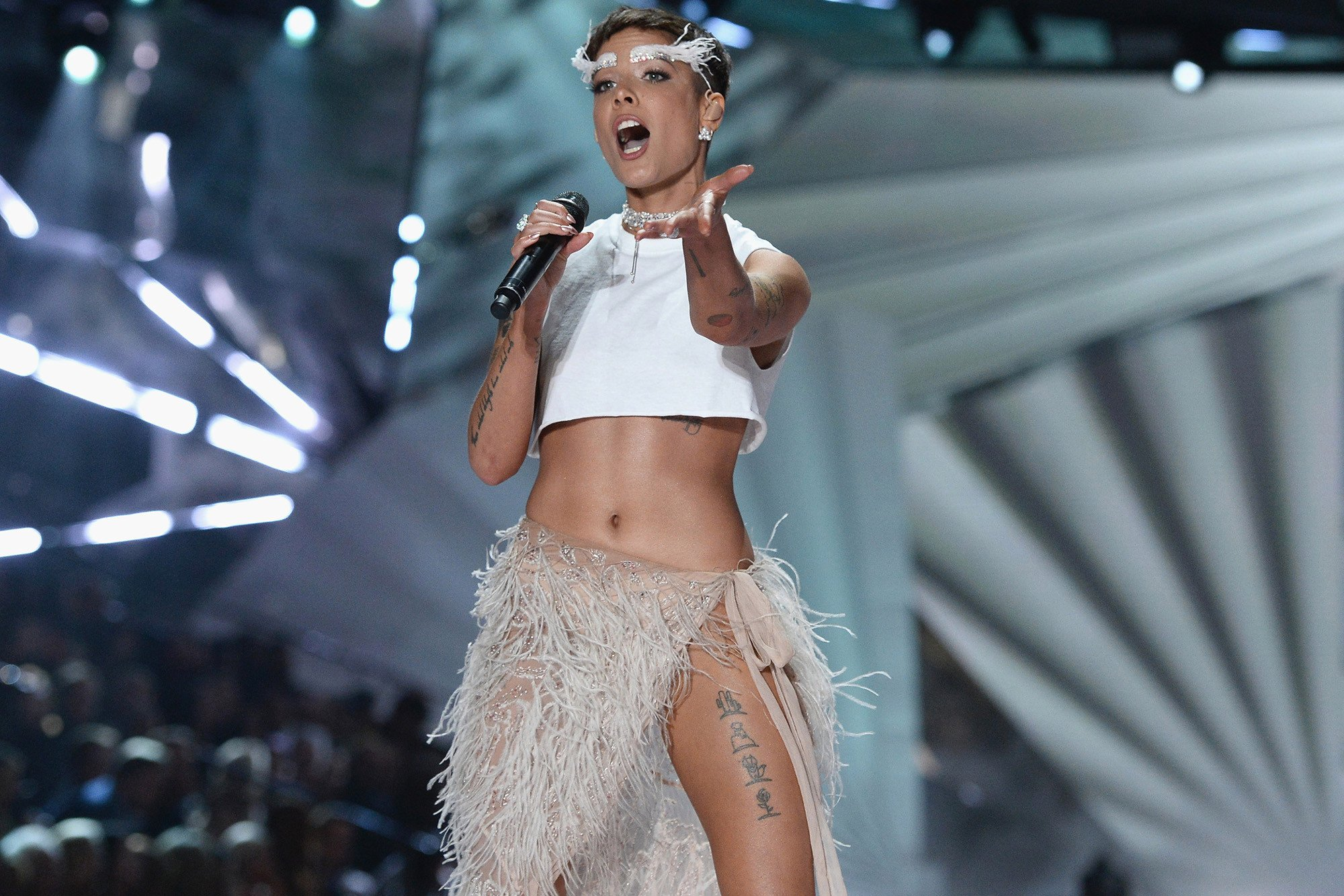Halsey criticizes Victoria's Secret Fashion Show over 'lack of inclusivity'