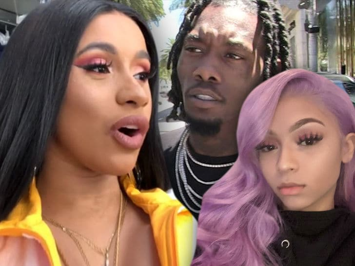Cardi B Split with Offset Because He Was Chatting Up Female Rapper Cuban Doll