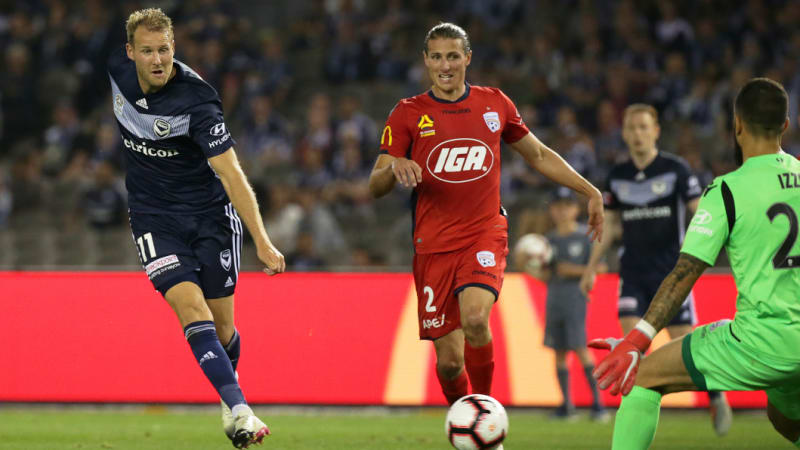 Victory roll Adelaide 2-0 to stretch winning streak to five