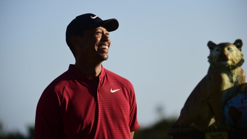 Woods heads to Australia to promote Presidents Cup
