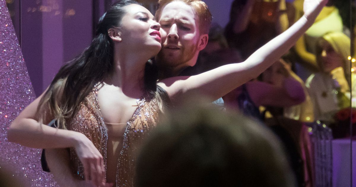 Strictly Come Dancing's Neil and Katya Jones put on an astonishing performance