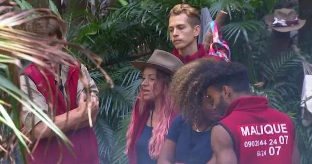 I'm A Celebrity's Malique Thompson-Dwyer spotted with 'mobile phone' in camp
