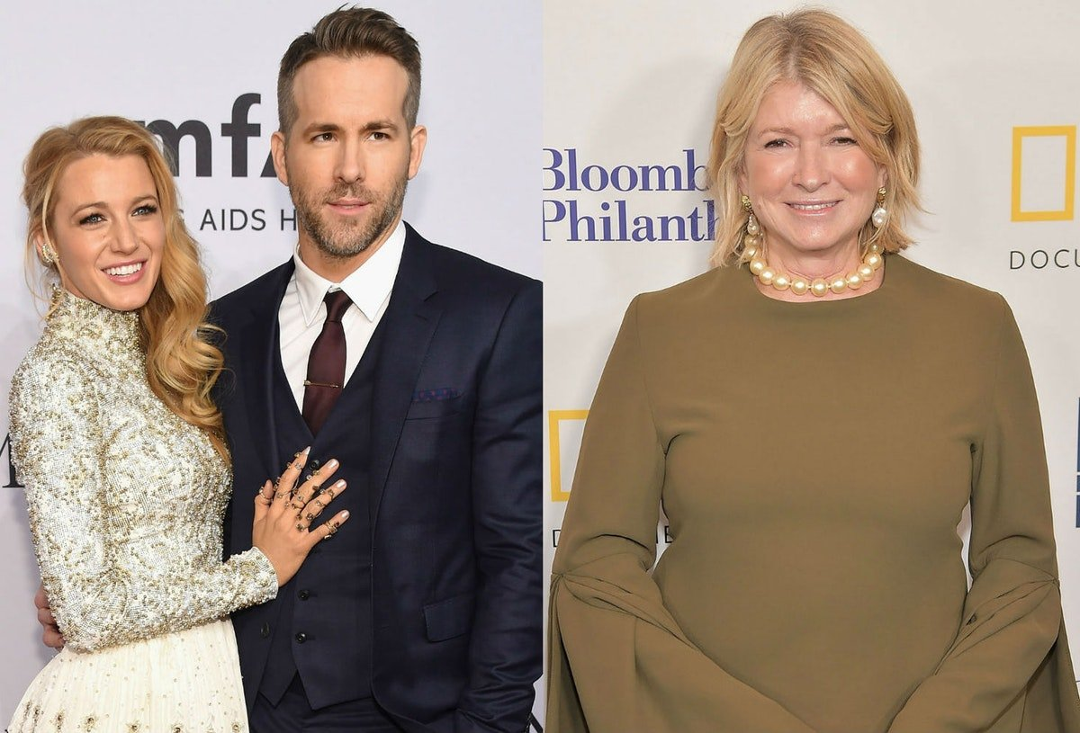 Ryan Reynolds' Holiday Contest Idea Involving Blake Lively & Martha Stewart Is The Best