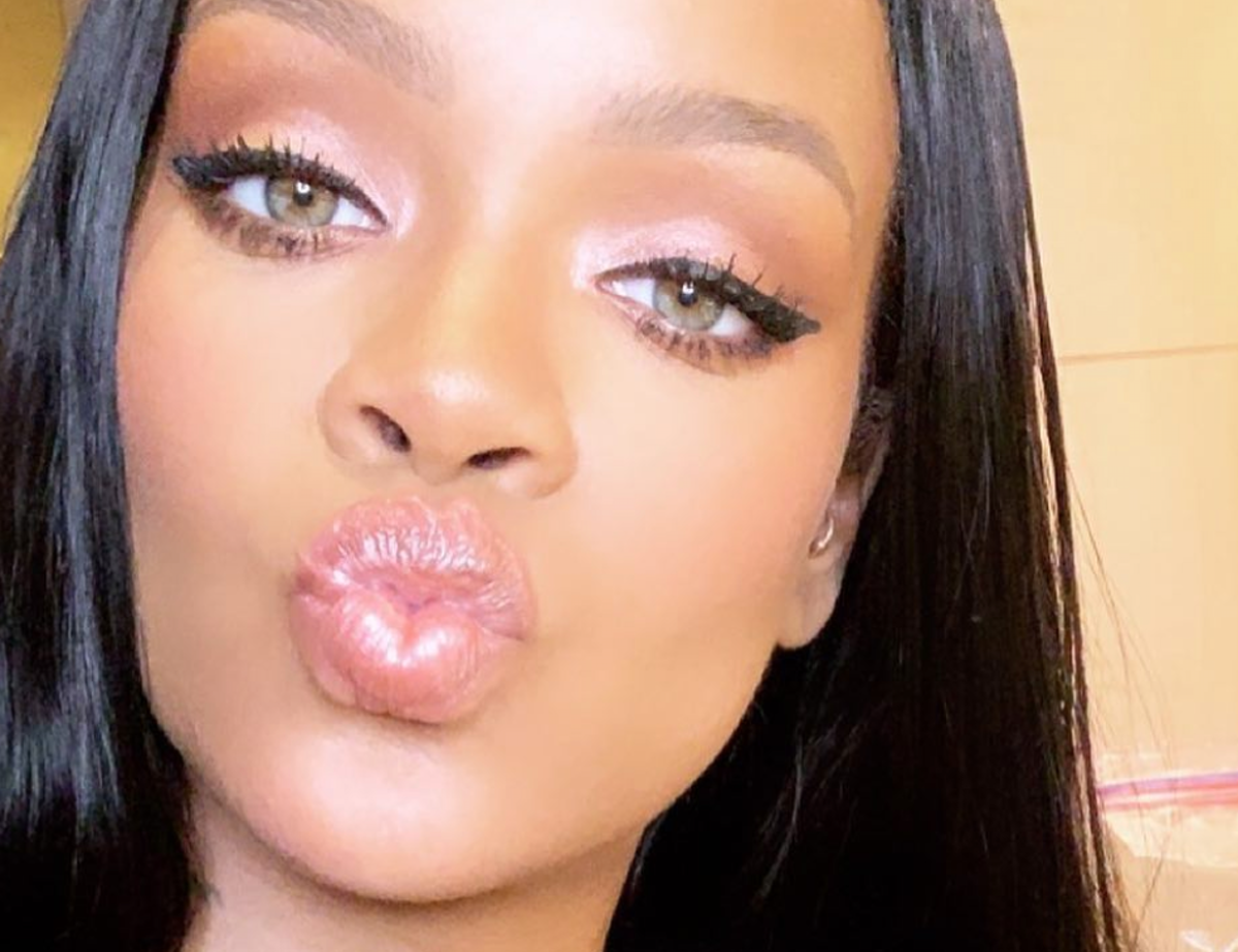Rihanna Is Dropping A New Gloss Bomb Shade & It's Definitely The Best One Yet