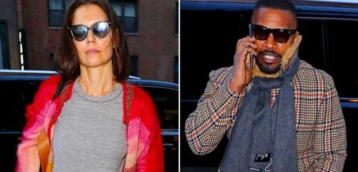 Katie Holmes Celebrates Her 40th Birthday With None Other Than Boyfriend Jamie Foxx