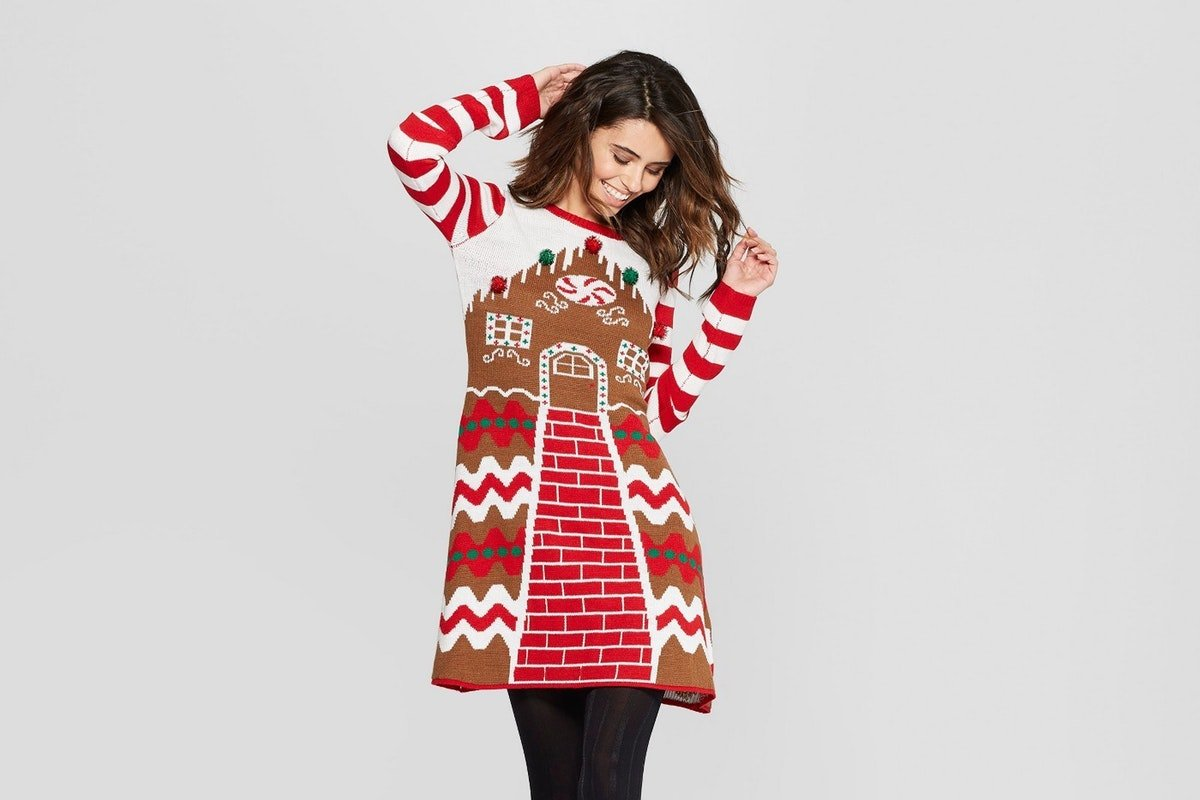 """Target's New """"Ugly"""" Holiday Dresses Are The Only Thing You Need For Your Holiday Parties"""