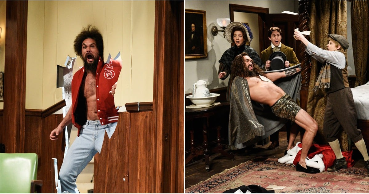 Jason Momoa's Saturday Night Live Episode Was Silly, Sexy, and Just What We Needed