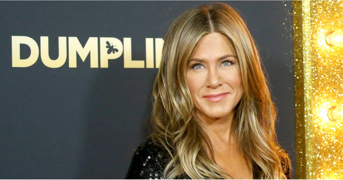 Jennifer Aniston Sparkles as She Hits the Red Carpet For Her New Netflix Movie