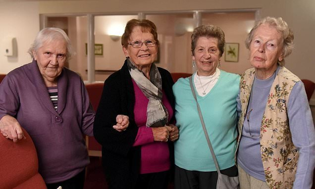 Five pensioners took over management of their own retirement home