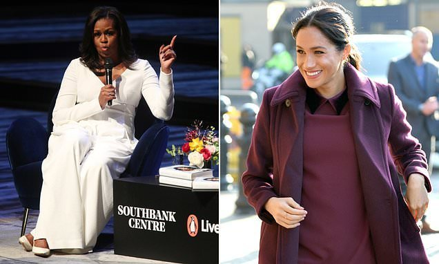 Revealed: Meghan Markle attended Michelle Obama's talk in London