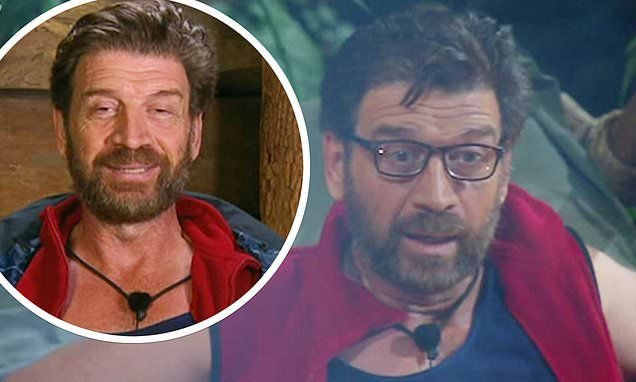 I'm A Celebrity: Nick Knowles hears his single reached Number One