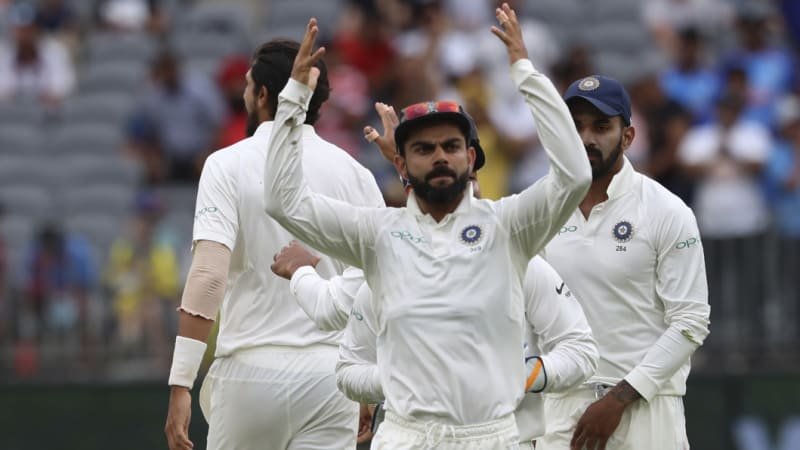 Kohli 'out of control' on day of catching drama