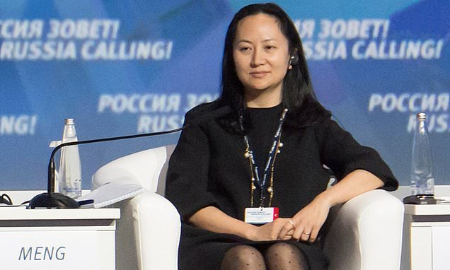 China's media accuses U.S. of 'despicable' action over Huawei arrest