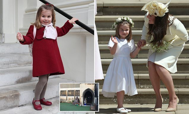 Has Princess Charlotte starred in her first ever nativity play?