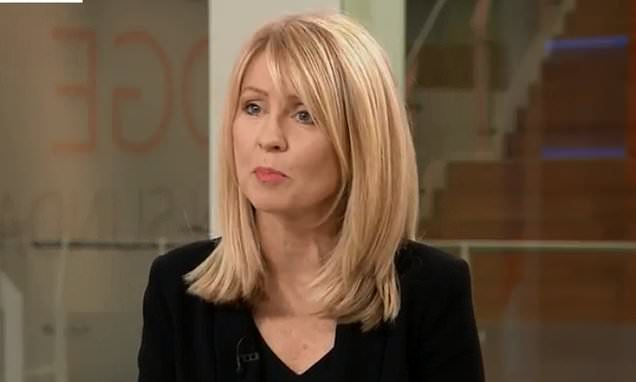 Esther McVey says she WOULD think about running for Tory leadership