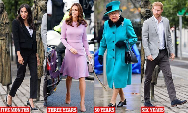 Why do royals NEVER change their shoes?
