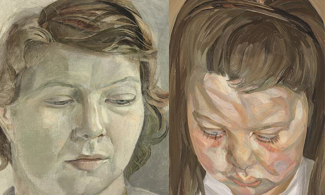 Lucian Freud portraits are given to Britain