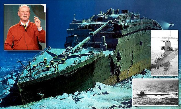Explorer who found Titanic says mission was a ruse to trick Russians