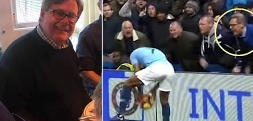 Police interview a Chelsea supporter over 'racist abuse'