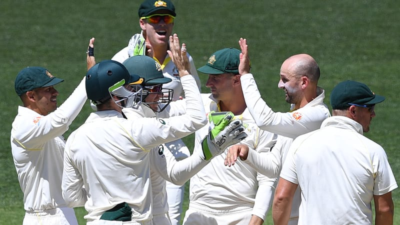 Killing them with kindness: Aussies on best behaviour in first Test