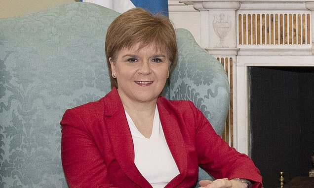Nicola Sturgeon blasts 'vicious' Tory civil war