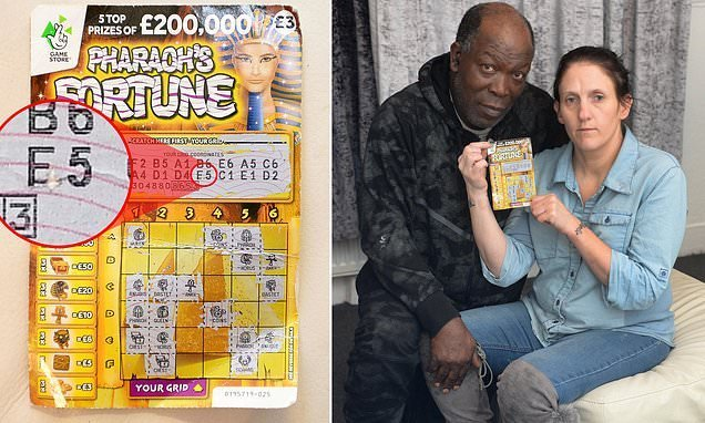 Father-of-four refused £200,000 lottery prize says: 'I'm no cheat'