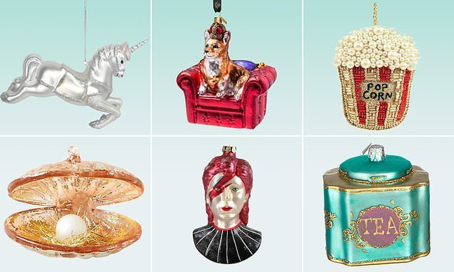 Beautiful bonkers baubles: FEMAIL picks out the best decorations