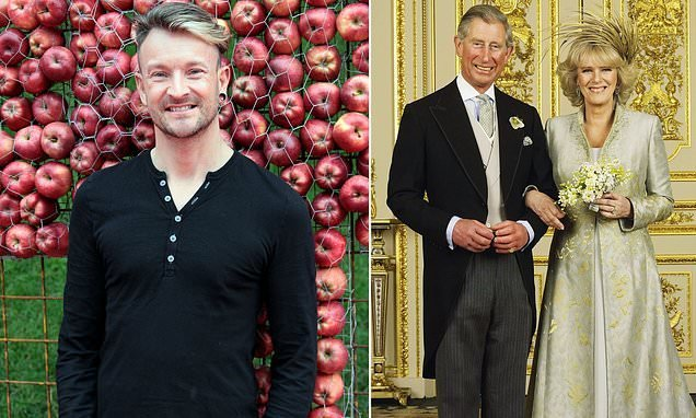 Flowers had to be kept fresh when Charles' wedding was postponed