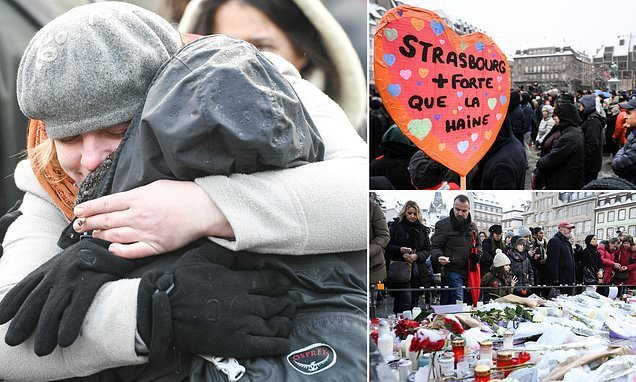 Strasbourg Christmas market attack's death toll rises to five
