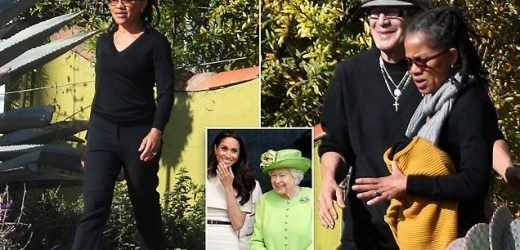 Doria Ragland steps out after turning down Queen's Christmas invitate