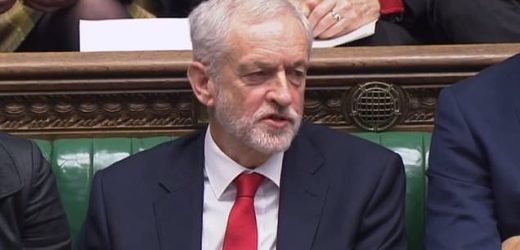 Fury as Corbyn seems to call May a 'stupid woman' at PMQs