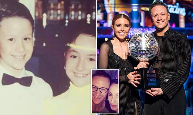 Strictly star Kevin Clifton's childhood sweetheart posts sweet picture