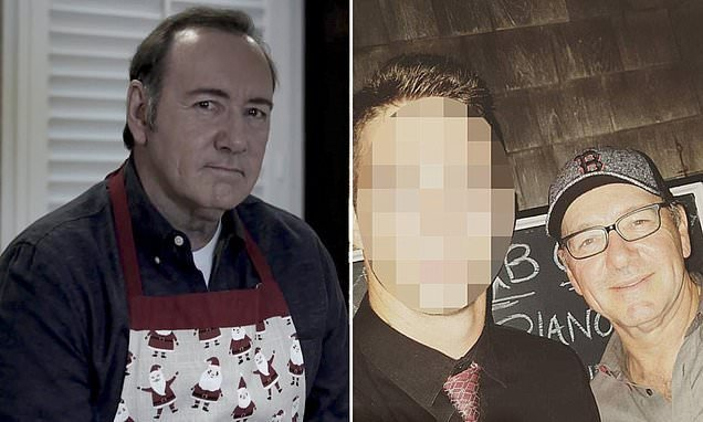 Kevin Spacey's alleged sexual assault victim recorded him on Snapchat