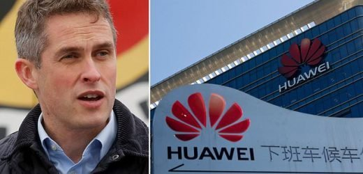 China spy fears as Huawei prepares to build UK's 5G mobile network