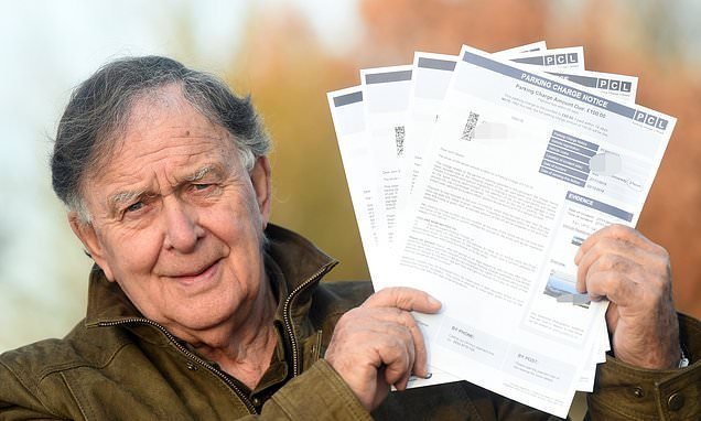 Dog walker slams parking firm after he is slapped with £400 in fines