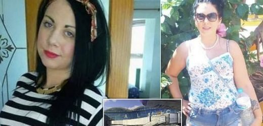 Mother-of-two dies after plunging 60ft from airport walkway