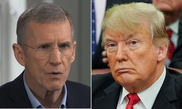 Trump is immoral and a liar, says retired Gen.Stanley McChrystal