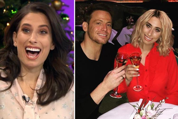 Stacey Solomon makes cheeky joke about Joe Swash's package on Loose Women