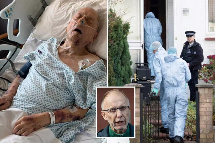 Son of World War 2 veteran Peter Gouldstone who died in robbery calls on killer to come forward