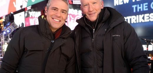 Andy Cohen Asks Best Friend Anderson Cooper To Be Baby's Godfather